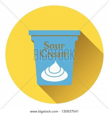 Sour Cream Icon