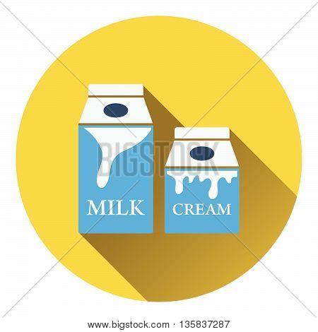 Milk And Cream Container Icon