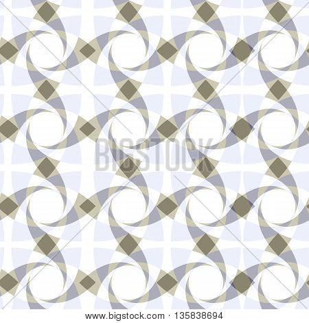 geometric seamless transparent pattern in pastel colours