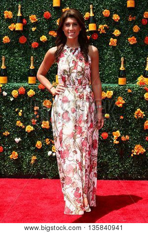 JERSEY CITY, NJ - MAY 30: TV personality Lauren Scala attends the 8th Annual Veuve Clicquot Polo Classic at Liberty State Park on May 30, 2015 in Jersey  City, New Jersey.