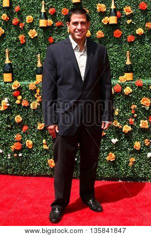 JERSEY CITY, NJ - MAY 30: Announcer Harry Cicma attends the 8th Annual Veuve Clicquot Polo Classic at Liberty State Park on May 30, 2015 in Jersey  City, New Jersey.