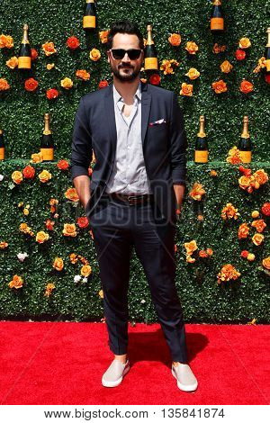 JERSEY CITY, NJ - MAY 30: Gavin Bellour attends the 8th Annual Veuve Clicquot Polo Classic at Liberty State Park on May 30, 2015 in Jersey  City, New Jersey.