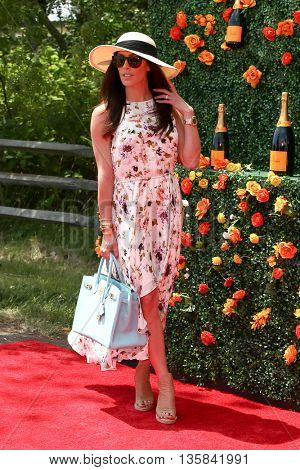 JERSEY CITY, NJ - MAY 30: Actress Monique Zordan attends the 8th Annual Veuve Clicquot Polo Classic at Liberty State Park on May 30, 2015 in Jersey  City, New Jersey.