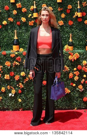 JERSEY CITY, NJ - MAY 30: Lauren Remington Platt attends the 8th Annual Veuve Clicquot Polo Classic at Liberty State Park on May 30, 2015 in Jersey  City, New Jersey.