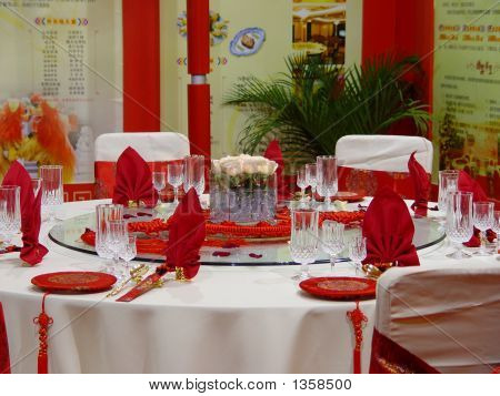Wedding Banquet Table Details