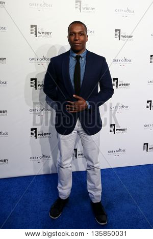NEW YORK, NY - MAY 18: Actor Leslie Odom Jr. attends the 19th Annual Webby Awards at Cipriani Wall Street on May 18, 2015 in New York City.