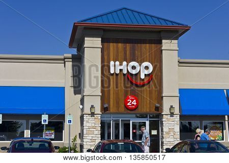 Indianapolis - Circa June 2016: International House of Pancakes. IHOP is a Restaurant Chain Offering a Variety of Breakfast and Dinner Meals I