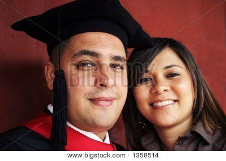 Retrato de día de graduación