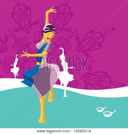 Deepavali celebratory element