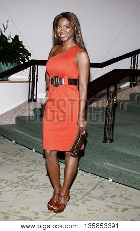 Kenya Moore at the Essence Black Women in Hollywood Luncheon held at the Beverly Hills Hotel in Beverly Hills, USA on February 19, 2009.