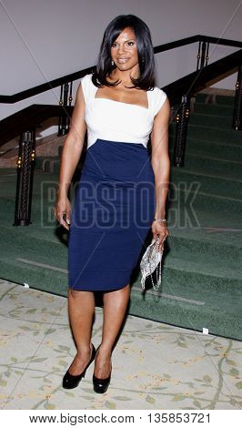 Audra McDonald at the Essence Black Women in Hollywood Luncheon held at the Beverly Hills Hotel in Beverly Hills, USA on February 19, 2009.