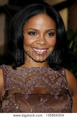 Sanaa Lathan at the Essence Black Women in Hollywood Luncheon held at the Beverly Hills Hotel in Beverly Hills, USA on February 19, 2009.
