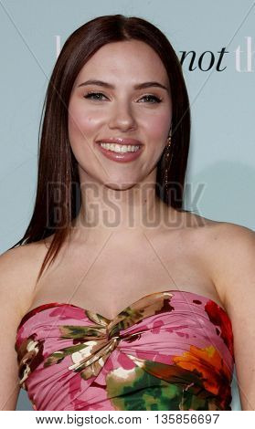 Scarlett Johansson at the World premiere of 'He's Just Not That Into You' held at the Grauman's Chinese Theater in Hollywood, USA on February 2, 2009.