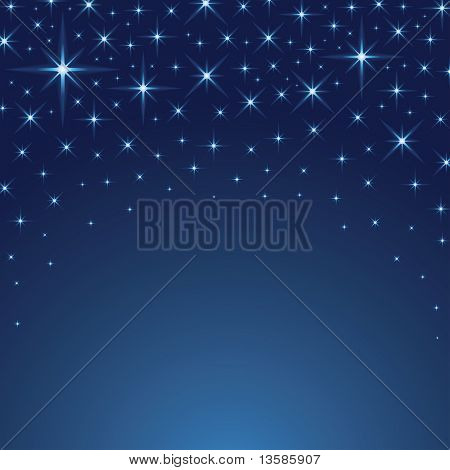 Vector Starry Background