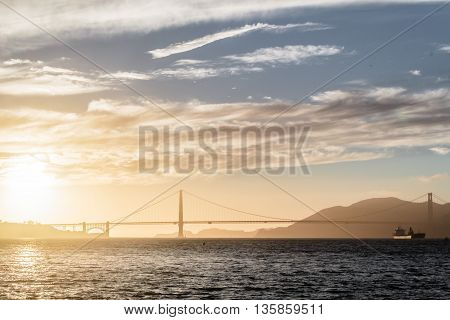 Photo of Golden Gate Bridge in San Francisco California