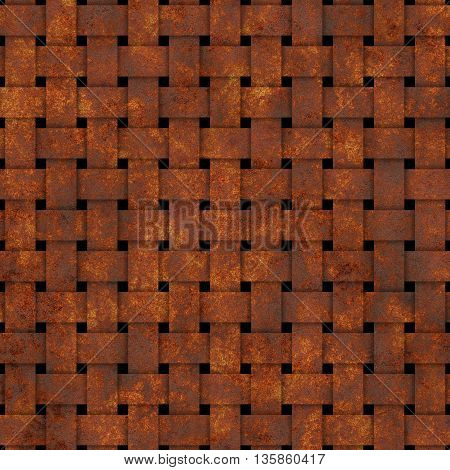 square old dirty rusty grid procedural texture
