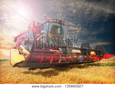Harvesting machine