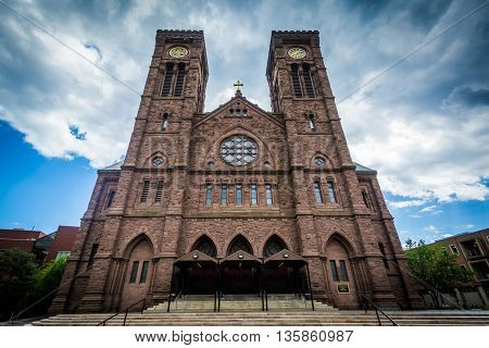 The Cathedral Of Saints Peter And Paul, In Providence, Rhode Island.