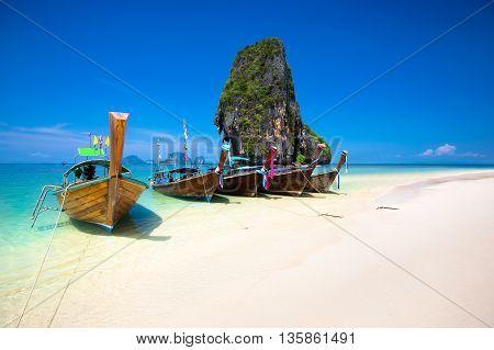 Rarity beach, Beautiful beach at Krabi Thailand