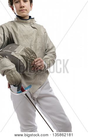 Fencing Athlete
