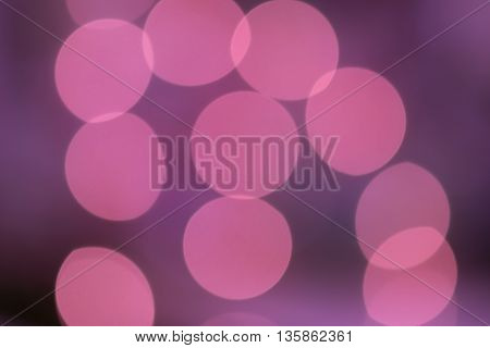 colorful purple pink circle bokeh abstract  background