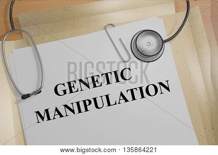 Genetic Manipulation Medical Concept