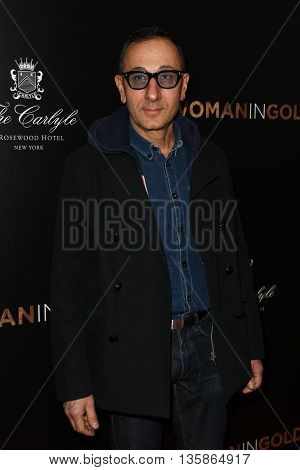 NEW YORK-MAR 30: Designer Gilles Mendel attends the