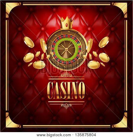 casino gambling game luxury background