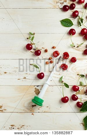 Fresh Pitted Cherries