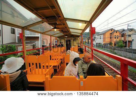 Tourists Om Sakano Romantic Train