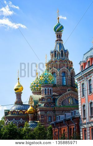 Church of the Saviour on Spilled Blood St. Petersburg Russia