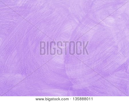 Stucco wall painted with a sweet purple colour