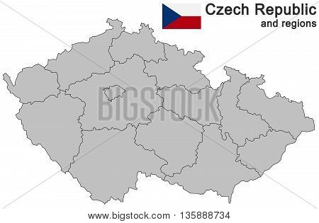 Country Czech Republic And Regions