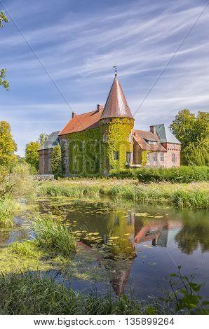 Ortofta slott is a castle in Eslov Municipality Scania in southern Sweden.