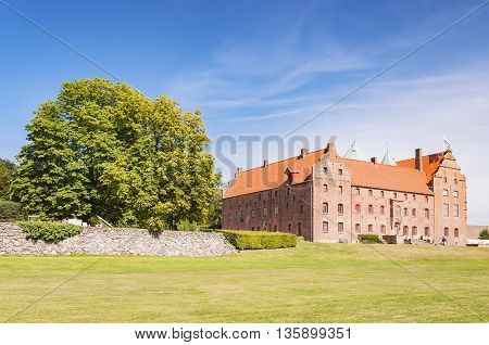 Skarhult slott is a castle in Eslov Municipality Scania in southern Sweden. Skarhult is one of Sweden's best preserved renaissance castles.