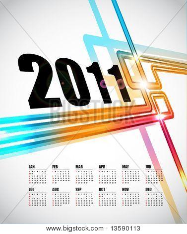Calendar Design 2011