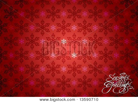 Seamless Christmas Snowflakes Wallpaper