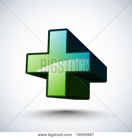 3D Icon - Addition