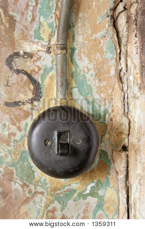 Old Electricity Switch