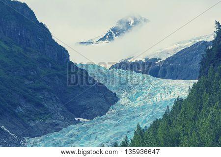 Bear glacier near Stewart, Canada