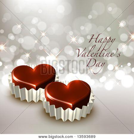 Vector Valentine's Chocolate