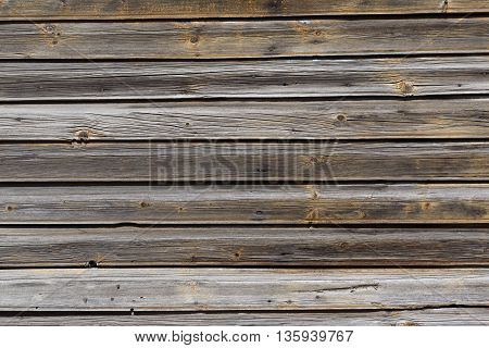 Background Detail Of Old And Dry Wood