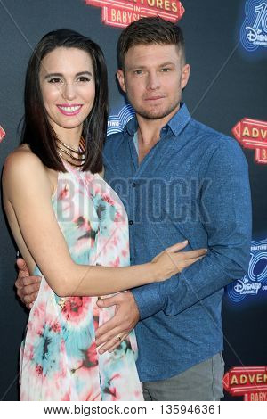 LOS ANGELES - JUN 23:  Christy Carlson Romano, Brendan Rooney at the 100th DCOM Adventures In Babysitting LA Premiere Screening at the Directors Guild of America on June 23, 2016 in Los Angeles, CA