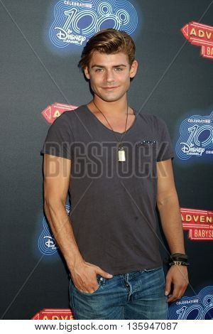 LOS ANGELES - JUN 23:  Garrett Clayton at the 100th DCOM Adventures In Babysitting LA Premiere Screening at the Directors Guild of America on June 23, 2016 in Los Angeles, CA
