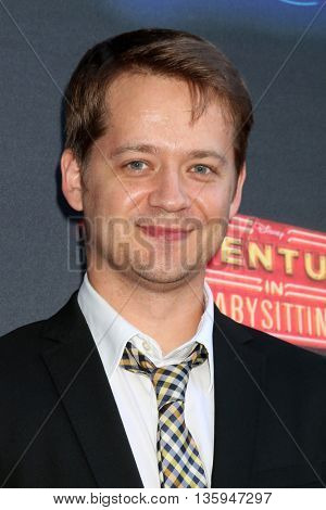LOS ANGELES - JUN 23:  Jason Earles at the 100th DCOM Adventures In Babysitting LA Premiere Screening at the Directors Guild of America on June 23, 2016 in Los Angeles, CA