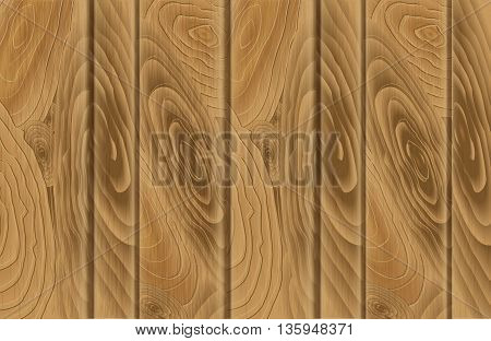 Wood texture template. Vector illustration. Vector background