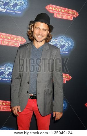 LOS ANGELES - JUN 23:  Max Lloyd Jones at the 100th DCOM Adventures In Babysitting LA Premiere Screening at the Directors Guild of America on June 23, 2016 in Los Angeles, CA