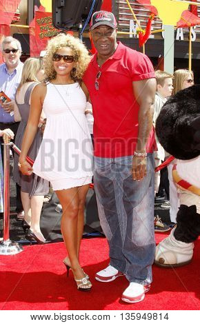 Michael Clarke Duncan at the Los Angeles premiere of 'Kung Fu Panda' held at the Grauman's Chinese Theater in Hollywood, June 1, 2008.