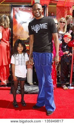Wayne Brady at the Los Angeles premiere of 'Kung Fu Panda' held at the Grauman's Chinese Theater in Hollywood, June 1, 2008.