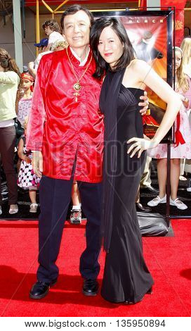 James Hong at the Los Angeles premiere of 'Kung Fu Panda' held at the Grauman's Chinese Theater in Hollywood, June 1, 2008.